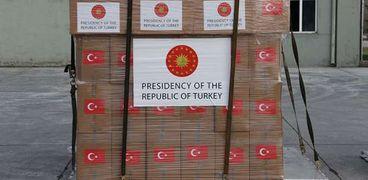 المساعدات الطبية التركية