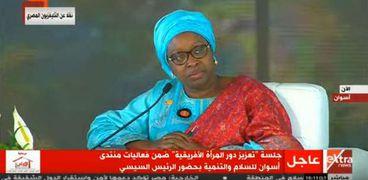 بيننا ديوب المبعوث الخاص للمراة والسلام بالاتحاد الافريقي