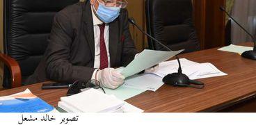 المستشار بهاء أبوشقة رئيس حزب الوفد