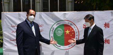 جامعة الدول العربية تتسلم شحنة كمامات طبية هدية من الصين الشعبية