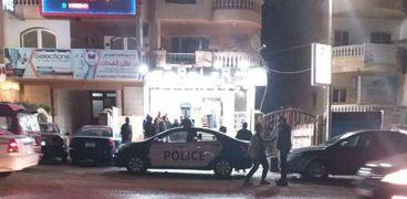 """محل """"الطويل"""" الذى تعرض للحادث منذ 11 يوما بحدائق الأهرام"""