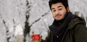 الطالب المصري أبانوب دميان الذي مات غرقا في أوكرانيا
