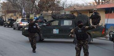عناصر من الشرطة الأفغانية