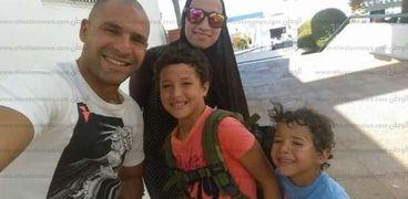 أسرة الشهيد مصطفى الخياط