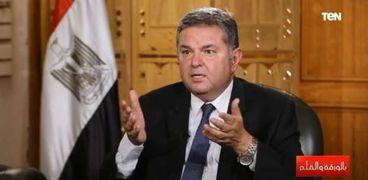 الدكتور هشام توفيق، وزير قطاع الأعمال العام