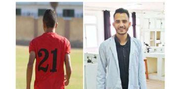 إبراهيم أيمن.. طالب بكلية الطب البيطري جامعة بنها