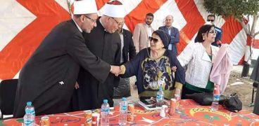 وفاة زوجة صوفي أبو طالب رئيس مصر الأسبق وتشييع جنازتها بالفيوم
