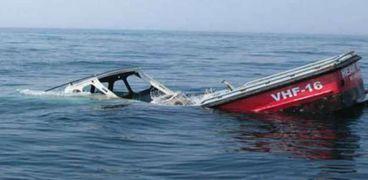 غرق سفينة صيد