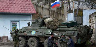 جنود روس في لاتشين