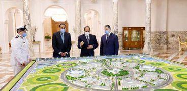 الرئيس السيسي يستعرض تطوير وزارة الداخلية
