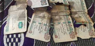 «مصطفى» يشتري العملات المحروق والمقطوعة