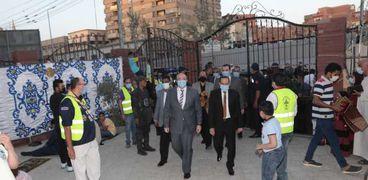 كشافة إيبارشية بني سويف تنظم صلاة عيد الأضحى بمسجد عمر بن عبد العزيز