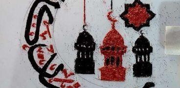 فارس يجسد أجواء رمضان بالشاي والتراب