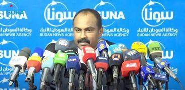 عضو مجلس السيادة الانتقالى في السودان محمد الفكي