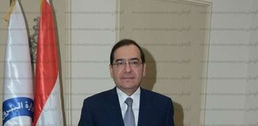 وزير البترول والثروة المعدنية- طارق الملا-صورة أرشيفية