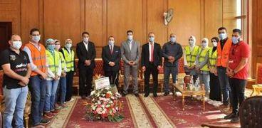 جامعة كفر الشيخ  تستقبل وفد صندوق مكافحة وعلاج الإدمان والتعاطي