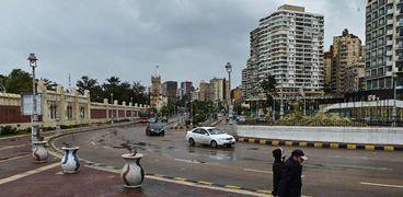 الإسكندرية تعرضت لموجة من الطقس السيء