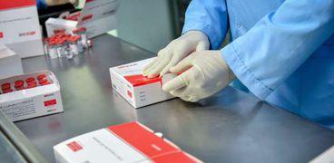 خط الانتاج المصري للقاح سينوفاك الصيني