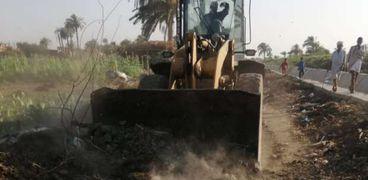 رئيس مدينة ببا ببني سويف عن العثور على حمير مذبوحة: «سلخوا الجلد بس»
