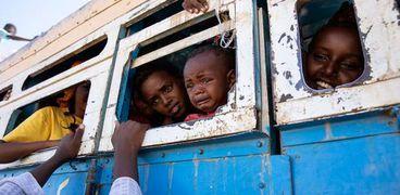 لاجئين بإقليم التيجراي