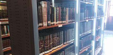 جانب من مقتنيات دار الكتب