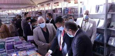 افتتاح معرض الكتاب بالمنصورة- أرشيفية