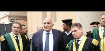 جولة رئيس محكمة إستئناف القاهرة