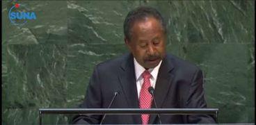 رئيس الوزراء السوداني عبد لله حمدوك