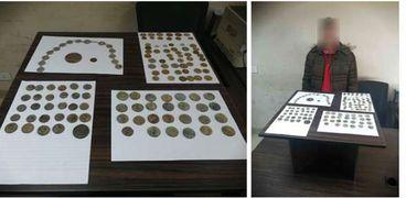 إحباط محاولة تهريب 72 قطعة عملة معدنية وميدالية أثرية عبر ميناء سفاجا