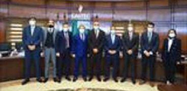 مراسم توقيع اتفاقية التعاون بين «الأهلى المصرى» و«غازتك»ع اتفاقية التعاون بين «الأهلى المصرى» و«غازتك»