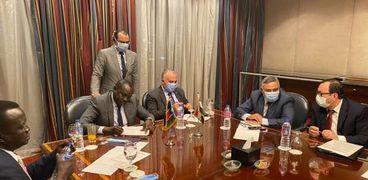 مباحثات بين وزيري الري والموارد المائية في مصر وجنوب السودان