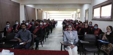 الطلاب الذين تم اختيارهم