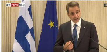 كيرياكوس ميتسوتاكيس رئيس وزراء اليونان