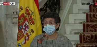 وزيرة الخارجية الأسبانية