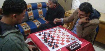 صورة أرشيفية لإحدي بطولات الشطرنج