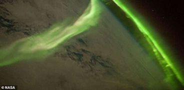عاصفة شمسية- صورة ارشيفية