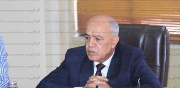 اللواء يسري الأخرس رئيس شركة الجسر العربي للملاحة