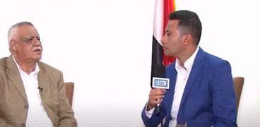 صالح ناصر مع الإعلامي عمرو خليل