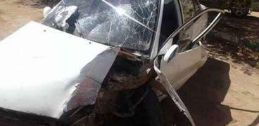 مصرع 3 اشخاص واصابة 3 آخرين في تصادم بسوهاج