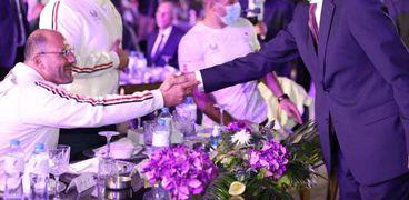وزيرا الاتصالات والرياضة يشهدان حفل تكريم أبطال بعثة بارالمبياد طوكيو 2020