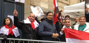 الجالية المصرية بفرنسا