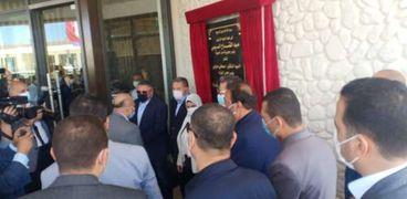 رئيس مجلس الوزراء يفتتح منتجع سياحى بالغردقة
