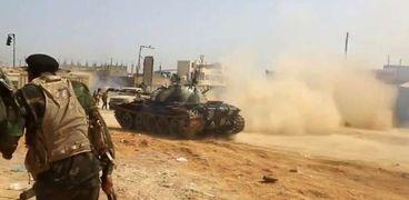 """الجيش الليبي """"صورة أرشيفية"""""""