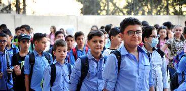 بدء العام الدراسي في سوريا