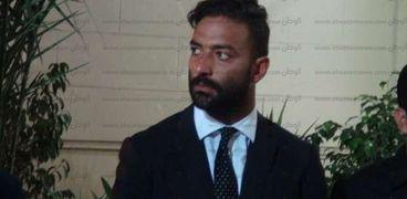 عزاء والد أحمد حسام ميدو