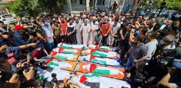 الأحداث بفلسطين