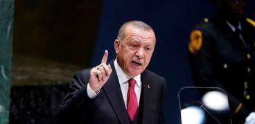 الرئيس التركي رجي طيب أردوغان
