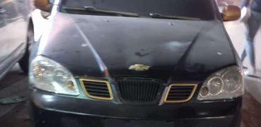 سيارة بدون لوحات معدنية صورة أرشيفية