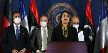 «نجلاء المنقوش» وزيرة الخارجية الليبية