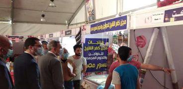 محافظ كفر الشيخ يتفقد معرض أهلا رمضان ويشيد بتوفير السلع الغذائية بـ 11 سيارة متنقلة